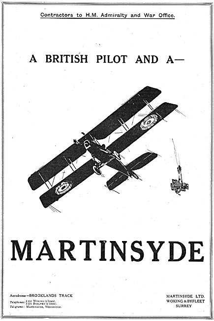 A British Pilot And A Martinsyde