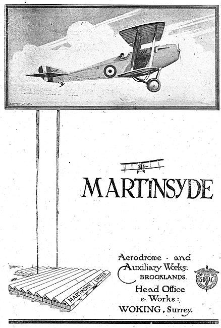 Martinsyde - Aerodrome & Works Brooklands