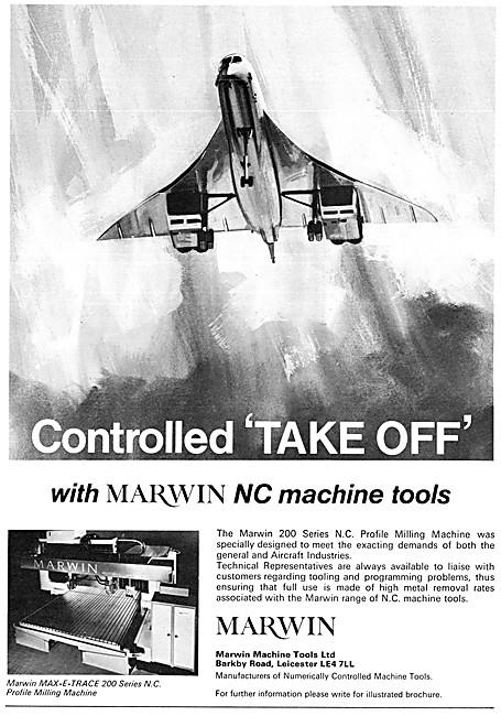 Marwin Machine Tools. Marwin MAX-E-TRACE 200 Series N.C.