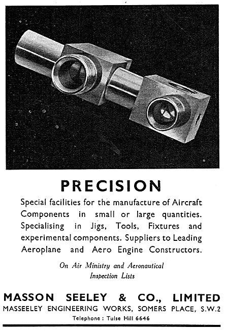 Masson Seeley - Aircraft Engineers