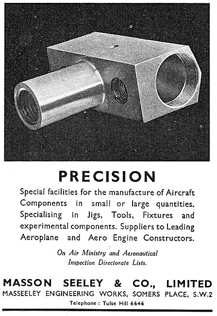 Masson Seeley - Aircraft Engineers & Component Manufacturers