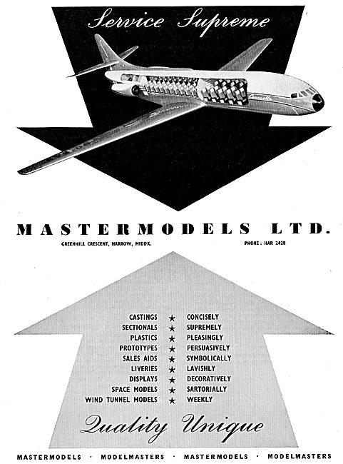 Mastermodels - Professional Aircraft Model Makers.