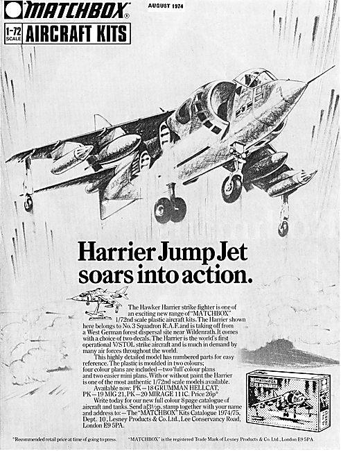Matchbox 1/72 Scale Harrier