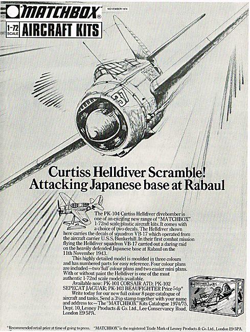 Matchbox Curtiss Helldiver