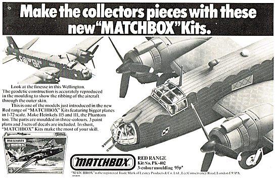 Matchbox 1/72 Scale Vickers Wellington