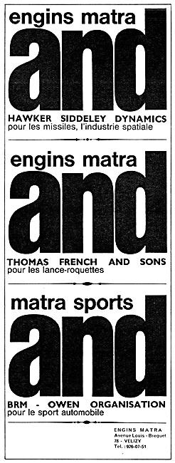 MATRA Engineering Partnerships 1967