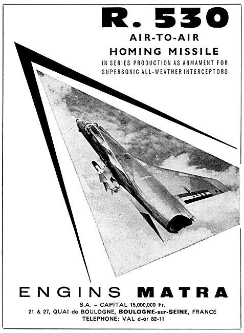 Matra R.530 Air-To-Air Missile