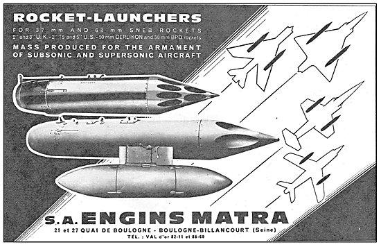 Matra Rocket-Launchers