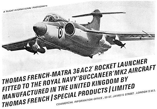 Matra Thomas French  Rocket Launcher