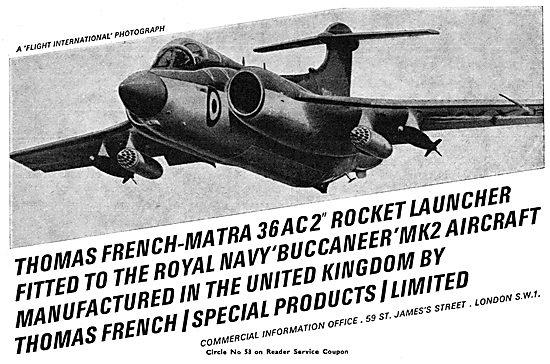 Thomas French-Matra Rocket Launchers 1966