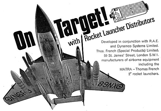 Thomas French-Matra Rocket Launchers