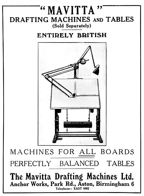 Mavitta Drafting Machines & Tables