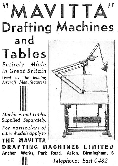 Mavitta Drafting Machines & Tables