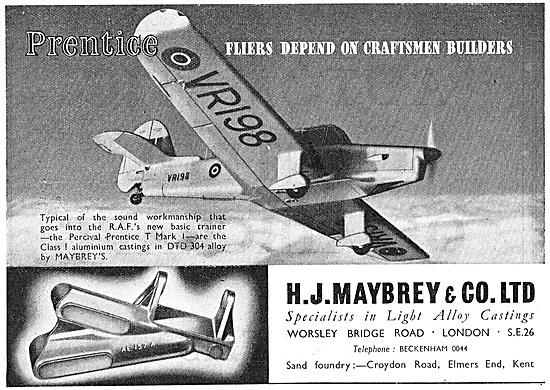 H.J.Maybrey - Aluminium Castings