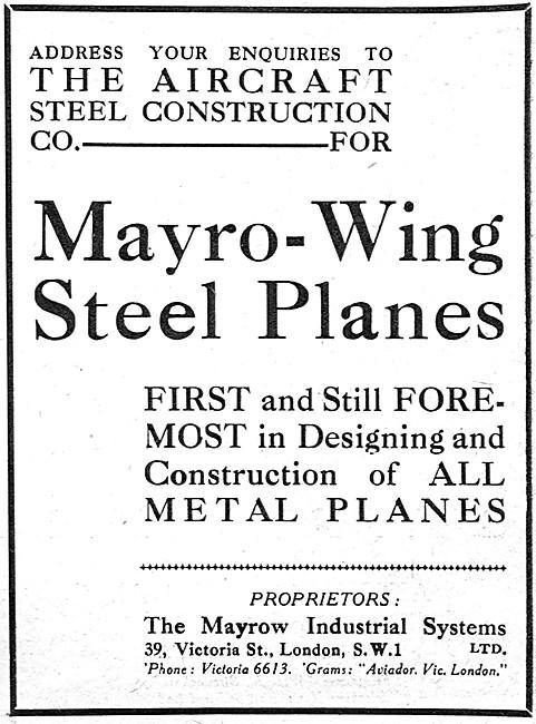 Mayrow Industrial Systems - Mayro-Wing Steel Wings