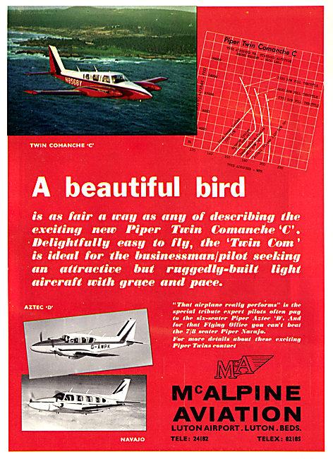 McAlpine Aviation - Luton. Piper