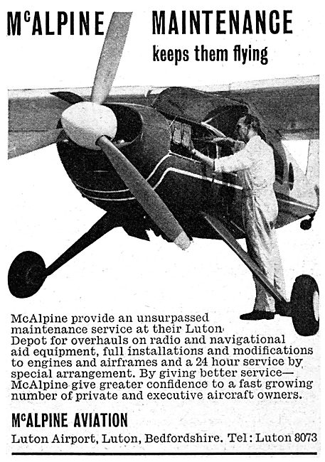 McAlpine Aviation Luton - Aircraft Maintenance & Engineering