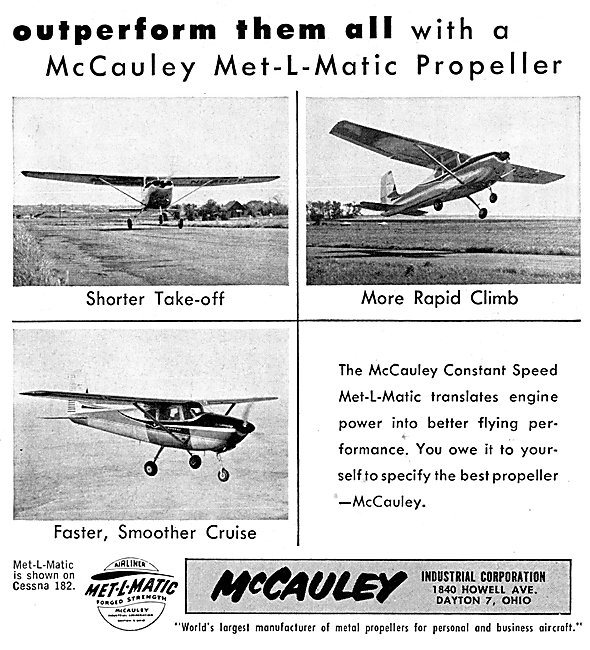 McCauley Met-L-Matic Propellers