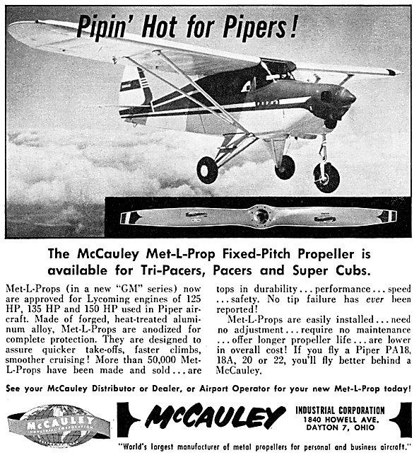 McCauley Propellers- McCauley Met-L-Prop
