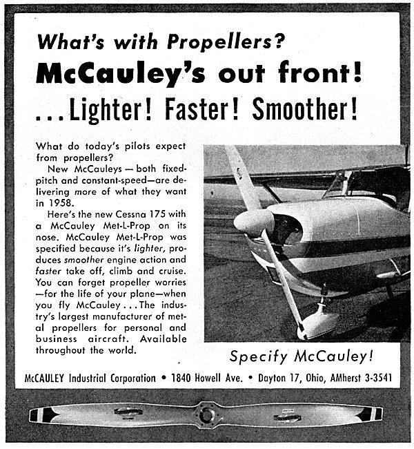 McCauley Propellers - Met-L-Prop