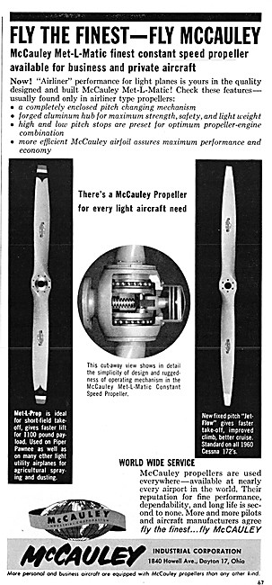 McCauley Propellers - McCauley Met-L-Matic Propeller