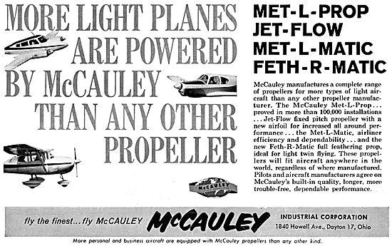 McCauley Propellers - Met-L-Matic Propellers