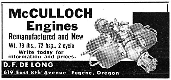McCulloch Engines