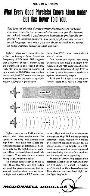 McDonnell Douglas Radar Facts #2