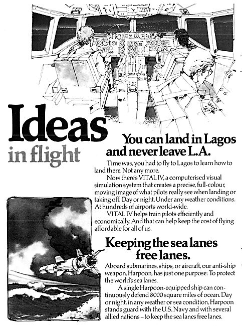 McDonnell Douglas Vital IV Flight Simulation System 1979