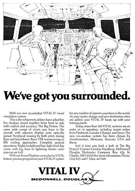 McDonnell Douglas Vital IV Visual Simulation System