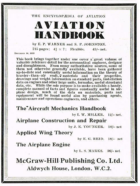 Applied Wing Theory E G Reid