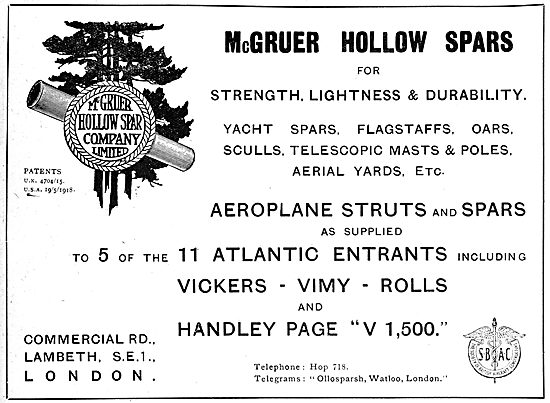 McGruer Hollow Spars