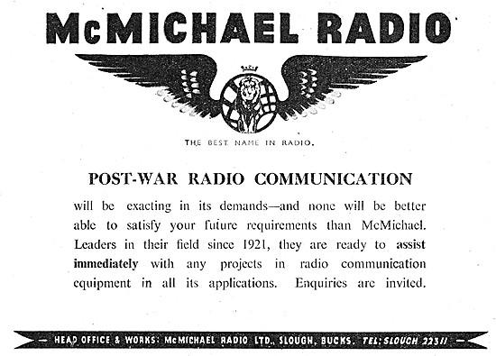 McMichael Radio Communications Equipment