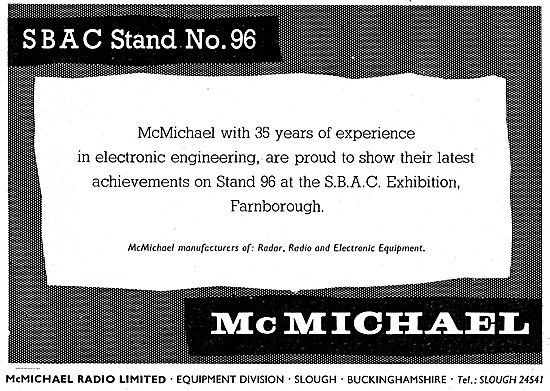 McMichael Electronic Engineering For The Aircraft Industry