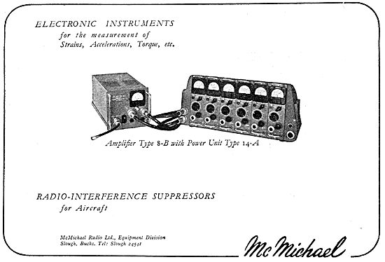 McMichael Electronic Measurement Equipment