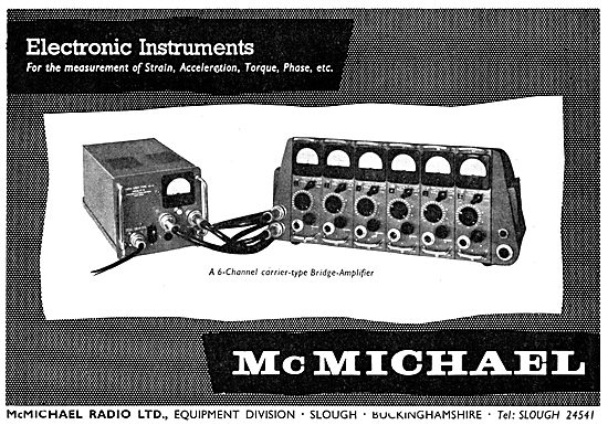 McMichael Electronic Test Equipment
