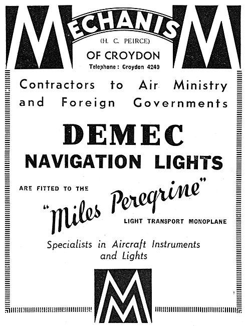 Mechanism DEMEC Navigation Lights