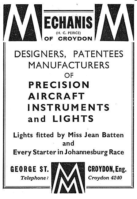 Mechanism - Precision Aircraft Instruments & Lights
