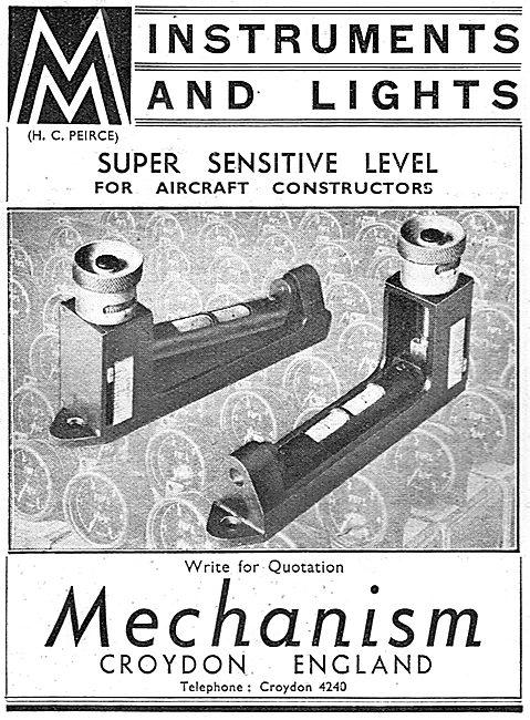 Mechanism Of Croydon: Precision Aircraft Instruments & Lights
