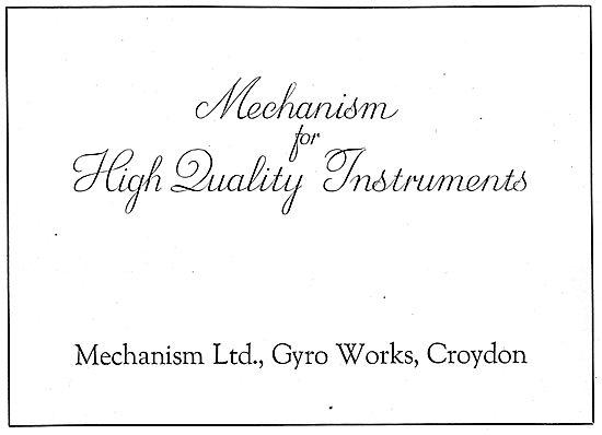 Mechanism Aircraft Instruments