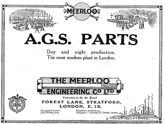 The Meerloo Engineering Co Ltd: AGS Parts.