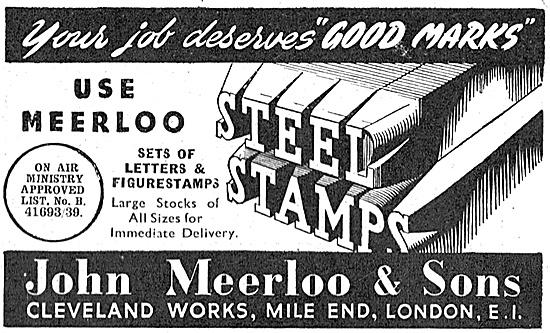 John Meerloo Steel Stamps 1940