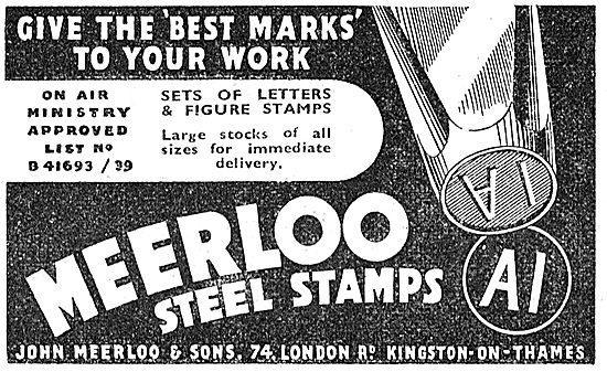 Meerloo Steel Stamps
