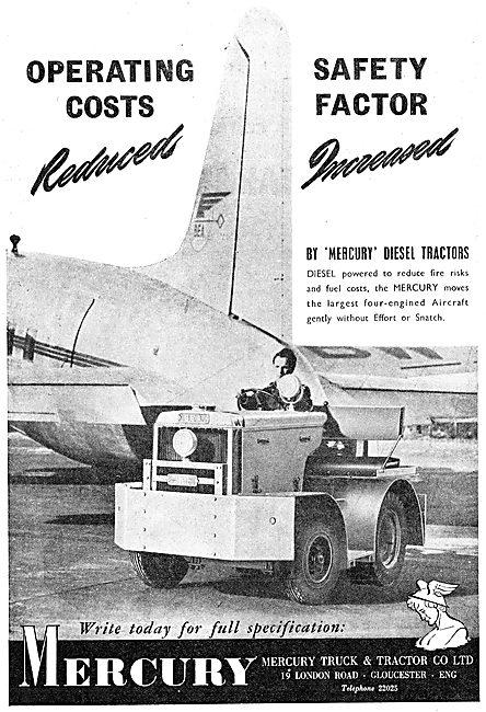Mercury Diesel Tractors - Mercury Tugs 1950