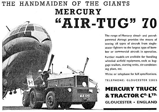 Mercury Air-Tug 70 Aircraft Tug / Tractor