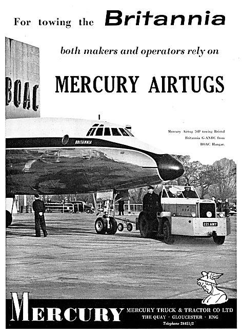 Mercury Aircraft Tugs - Mercury Tractors 1957