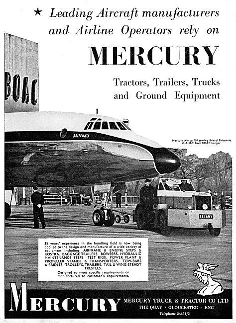 Mercury Aircraft Tugs - Mercury Tractors