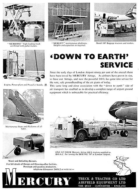 Mercury Tugs, Tractors & Aircraft Ground Handling Equipment