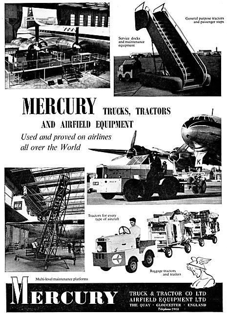 Mercury Tugs, Tractors & Airfield Equipment