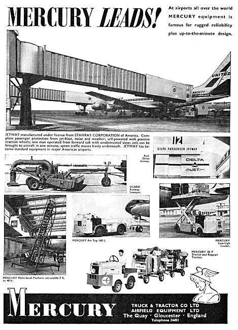 Mercury Tugs & Tractors For Aircraft Ground Handling